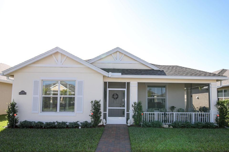 Single Family Home for Sale at 10300 SW Waterway Lane 10300 SW Waterway Lane Port St. Lucie, Florida 34987 United States