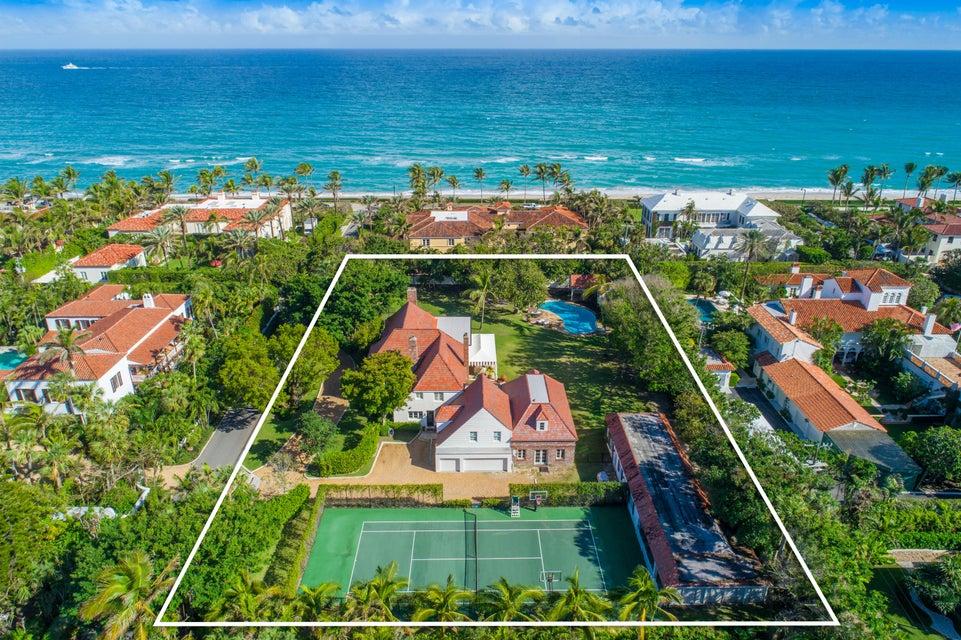 Single Family Home for Sale at 134 El Vedado Road 134 El Vedado Road Palm Beach, Florida 33480 United States