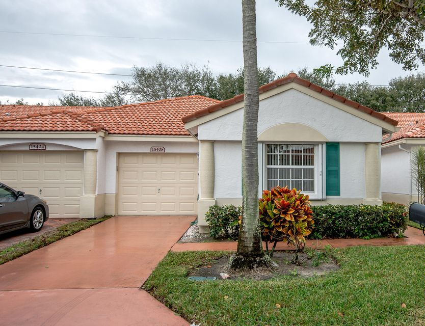 Townhouse for Sale at 15408 Rosaire Lane 15408 Rosaire Lane Delray Beach, Florida 33484 United States