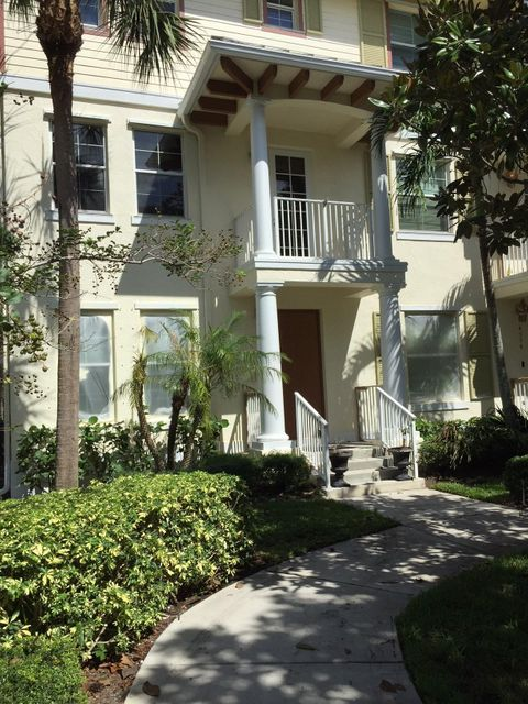 Casa unifamiliar adosada (Townhouse) por un Venta en 4300 Blowing Point Place 4300 Blowing Point Place Jupiter, Florida 33458 Estados Unidos