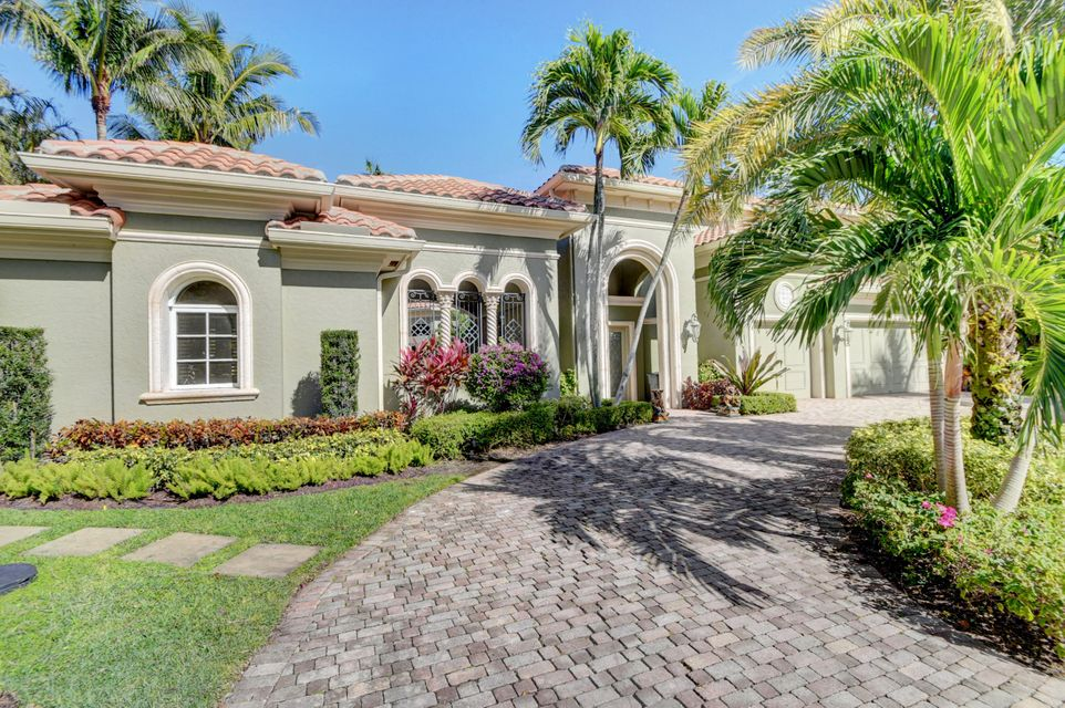 Single Family Home for Sale at 5983 Vintage Oaks Circle Delray Beach, Florida 33484 United States