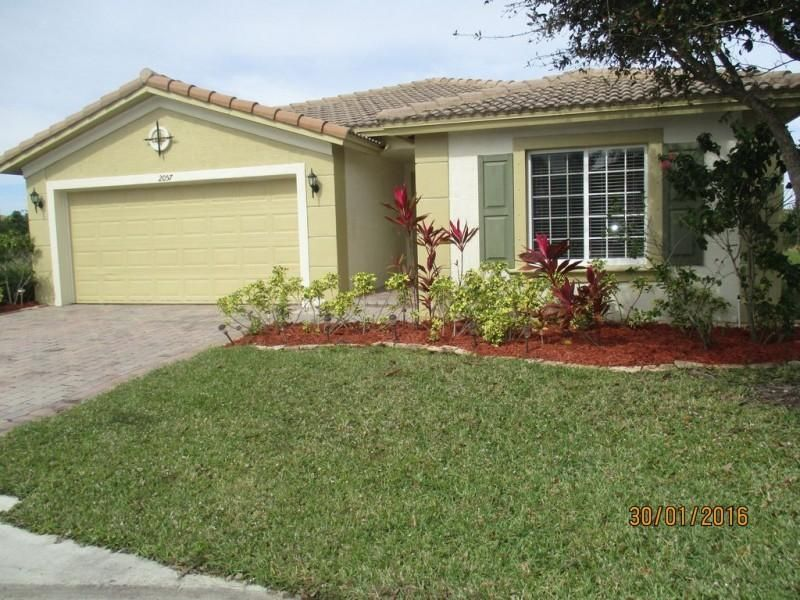 Single Family Home for Sale at 2057 Providence Place 2057 Providence Place Port St. Lucie, Florida 34953 United States