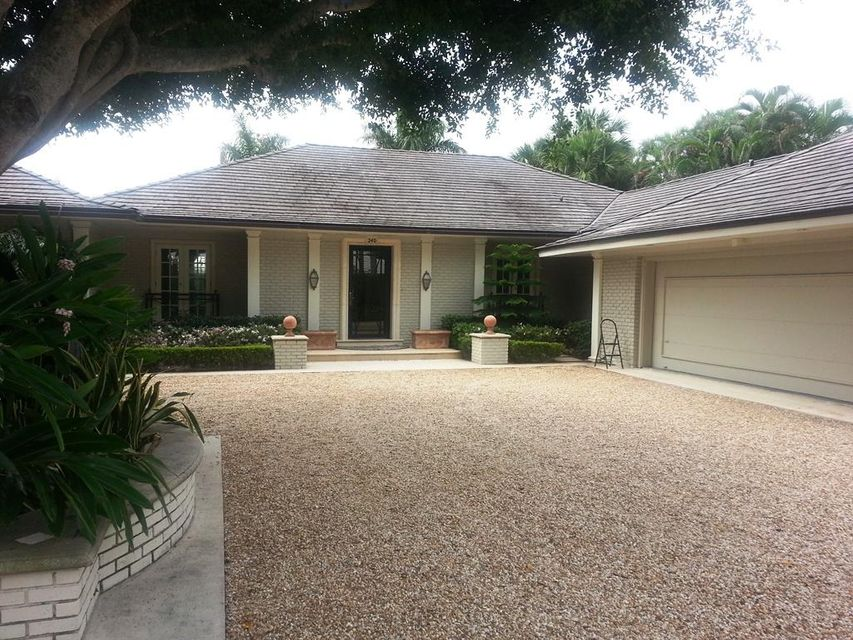 Single Family Home for Rent at 240 W Indies Drive 240 W Indies Drive Palm Beach, Florida 33480 United States