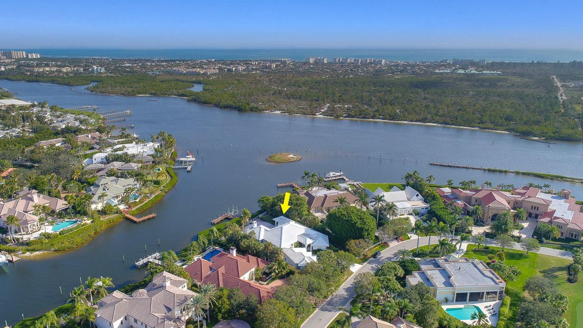 Single Family Home for Sale at 170 Spyglass Lane Jupiter, Florida 33477 United States