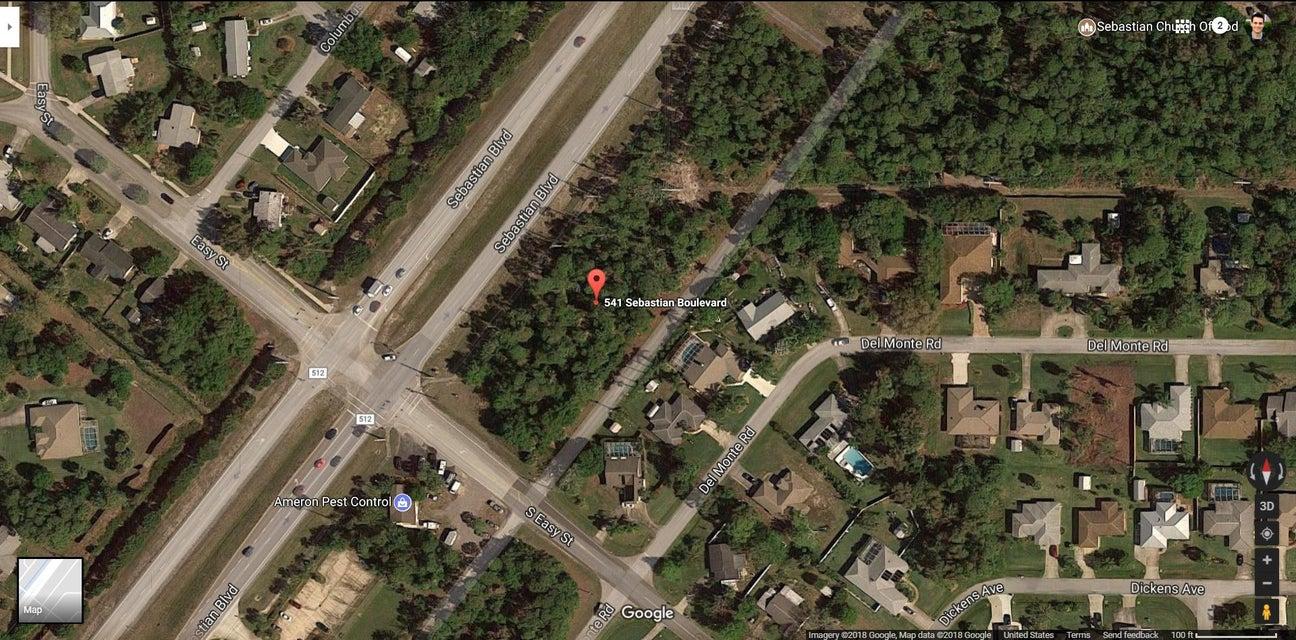 土地,用地 为 销售 在 541 Sebastian Boulevard 541 Sebastian Boulevard 塞巴斯蒂安, 佛罗里达州 32958 美国