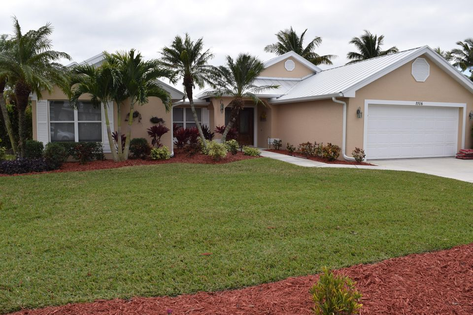 Single Family Home for Sale at 1106 SE Mitchell Avenue 1106 SE Mitchell Avenue Port St. Lucie, Florida 34952 United States