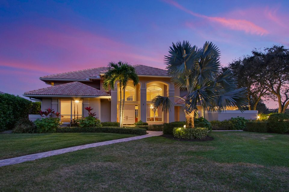 Single Family Home for Sale at 1 Sheldrake Circle Palm Beach Gardens, Florida 33418 United States