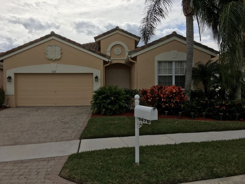 9478 Vercelli Street  Lake Worth, FL 33467