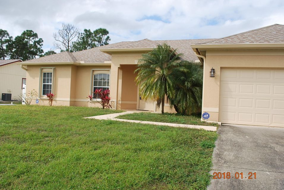 Single Family Home for Sale at 2426 SW Aberdeen Street Port St. Lucie, Florida 34953 United States