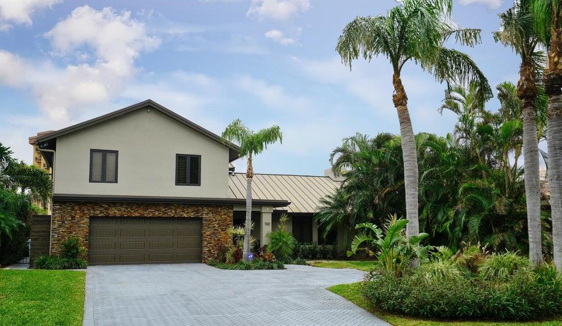 独户住宅 为 销售 在 760 NE 28th Avenue 760 NE 28th Avenue 波姆庞帕诺滩, 佛罗里达州 33062 美国