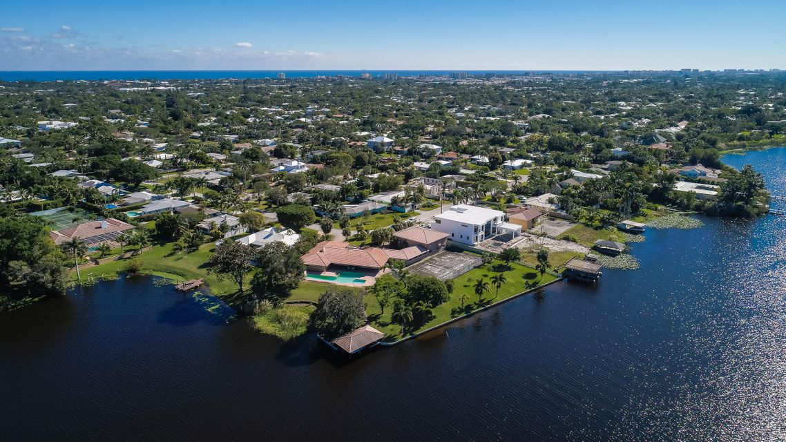 Single Family Home for Sale at 1520 Lake Drive 1520 Lake Drive Delray Beach, Florida 33444 United States