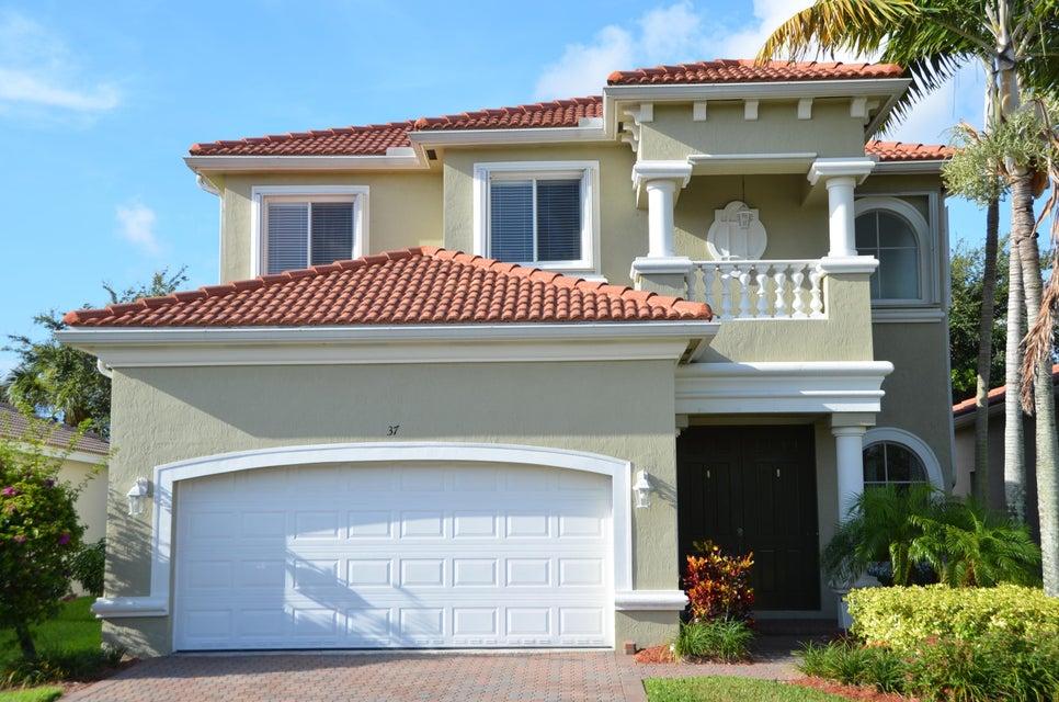 Single Family Home for Rent at 37 Country Lake Circle 37 Country Lake Circle Boynton Beach, Florida 33436 United States