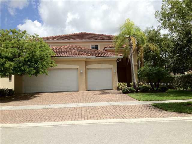 Single Family Home for Rent at 406 Gazetta Way 406 Gazetta Way West Palm Beach, Florida 33413 United States
