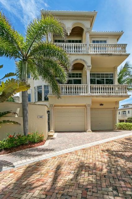 Single Family Home for Rent at 2629 S Ocean Boulevard 2629 S Ocean Boulevard Highland Beach, Florida 33487 United States