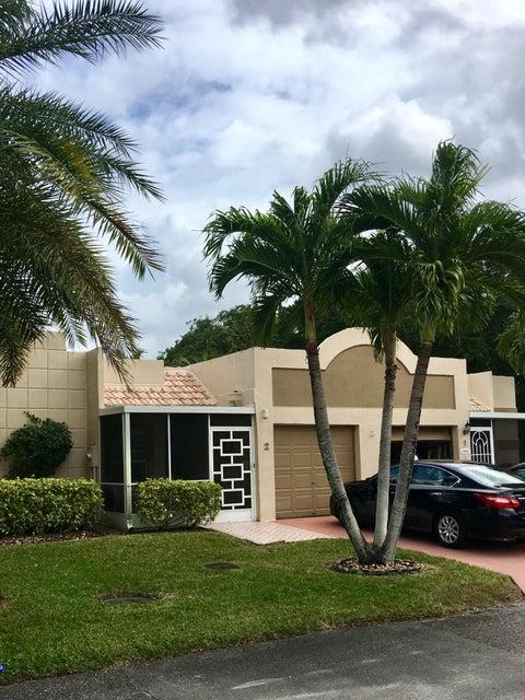 Villa for Sale at 18880 Jolson Avenue # 2 18880 Jolson Avenue # 2 Boca Raton, Florida 33496 United States