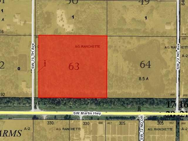 Land for Sale at 0 SW 75th Avenue Off Of Sr714 Highway 0 SW 75th Avenue Off Of Sr714 Highway Palm City, Florida 34990 United States