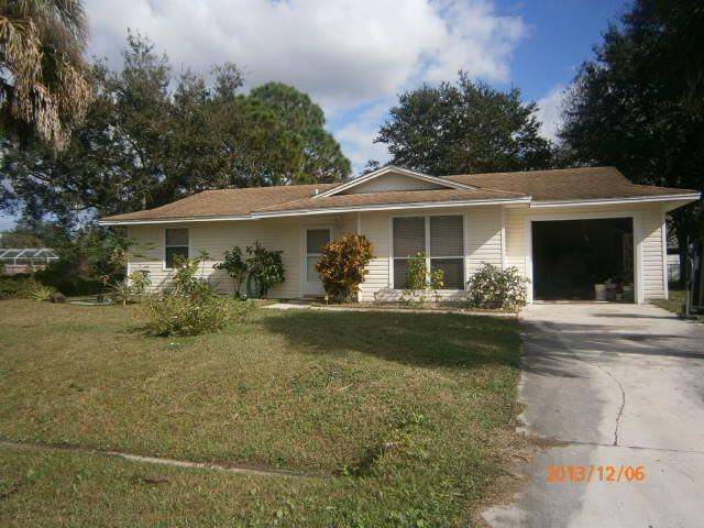 Single Family Home for Sale at 1967 SW Ember Street 1967 SW Ember Street Port St. Lucie, Florida 34953 United States