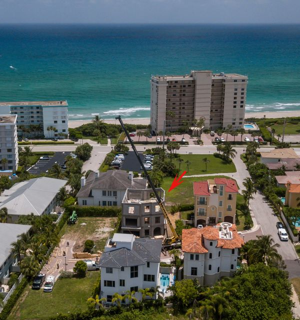 Single Family Home for Sale at 842 Ocean Side Drive 842 Ocean Side Drive Juno Beach, Florida 33408 United States