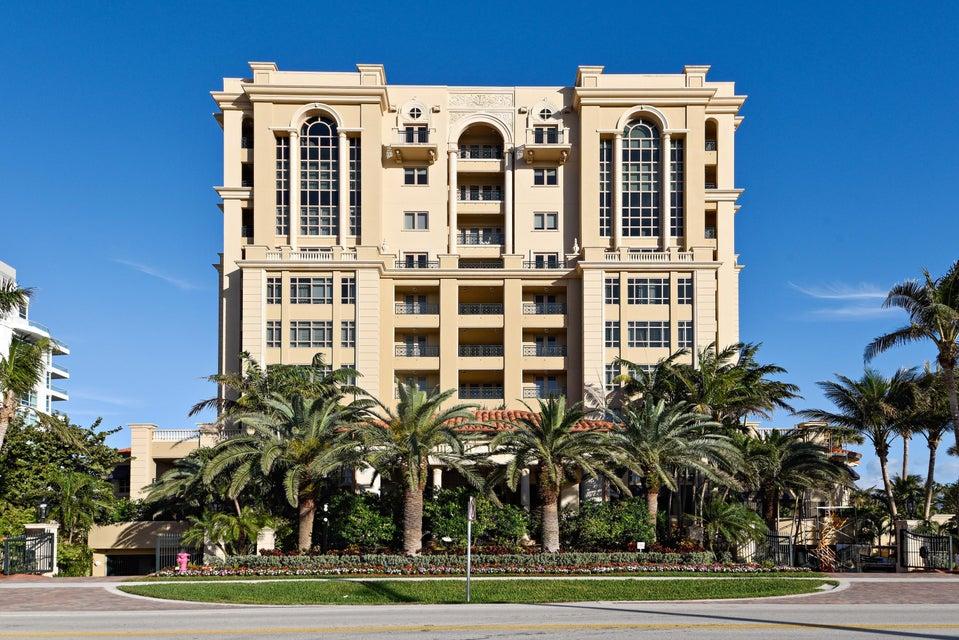 共管式独立产权公寓 为 销售 在 2500 S Ocean Boulevard # 801 2500 S Ocean Boulevard # 801 博卡拉顿, 佛罗里达州 33432 美国