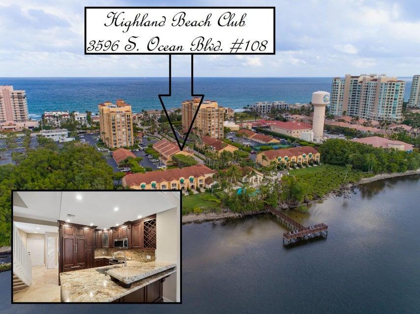 3596 S Ocean Boulevard 108  Highland Beach FL 33487