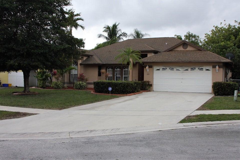 105 Knights Court  West Palm Beach FL 33411