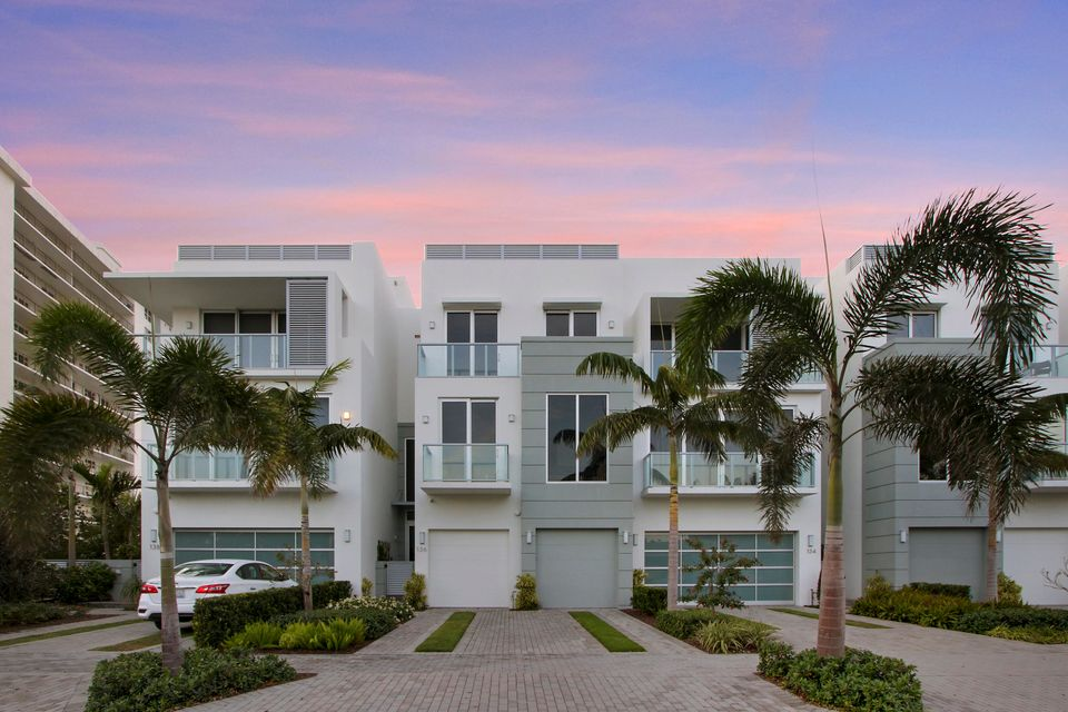 Townhouse for Sale at 136 Macfarlane Drive # Unit 2 (Model-Wave) 136 Macfarlane Drive # Unit 2 (Model-Wave) Delray Beach, Florida 33483 United States