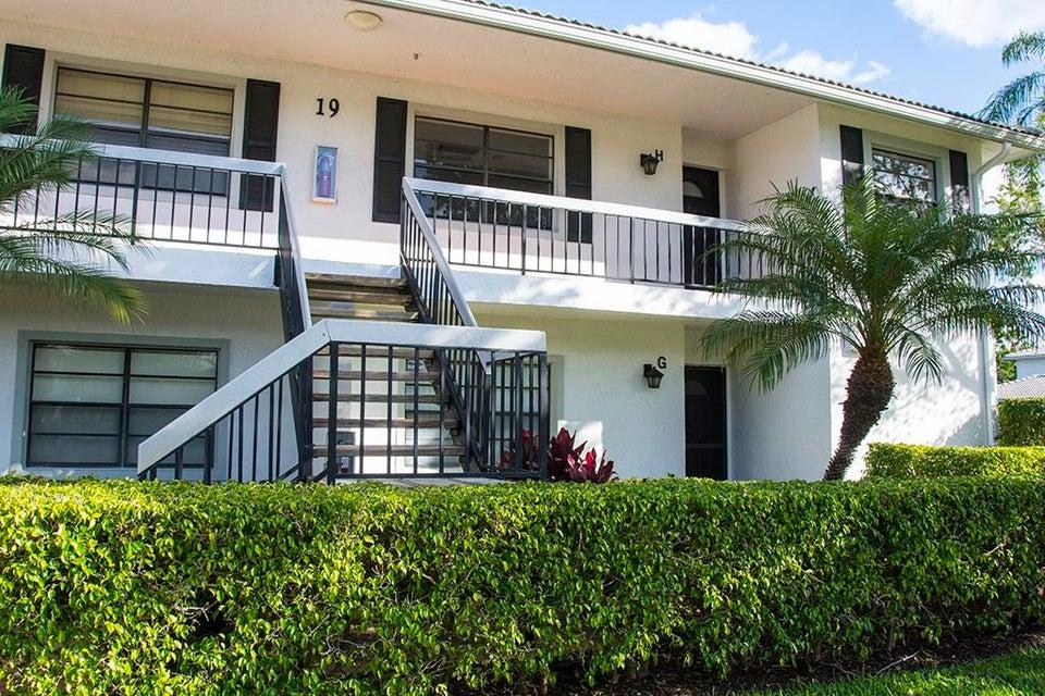 Condominium for Sale at 19 Stratford Drive # H 19 Stratford Drive # H Boynton Beach, Florida 33436 United States