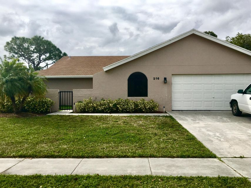 Single Family Home for Sale at 216 Ponce De Leon Street 216 Ponce De Leon Street Royal Palm Beach, Florida 33411 United States