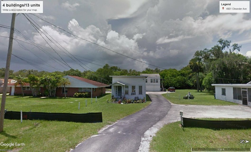 Quadraplex for Sale at 4901 Oleander Avenue 4901 Oleander Avenue Fort Pierce, Florida 34982 United States