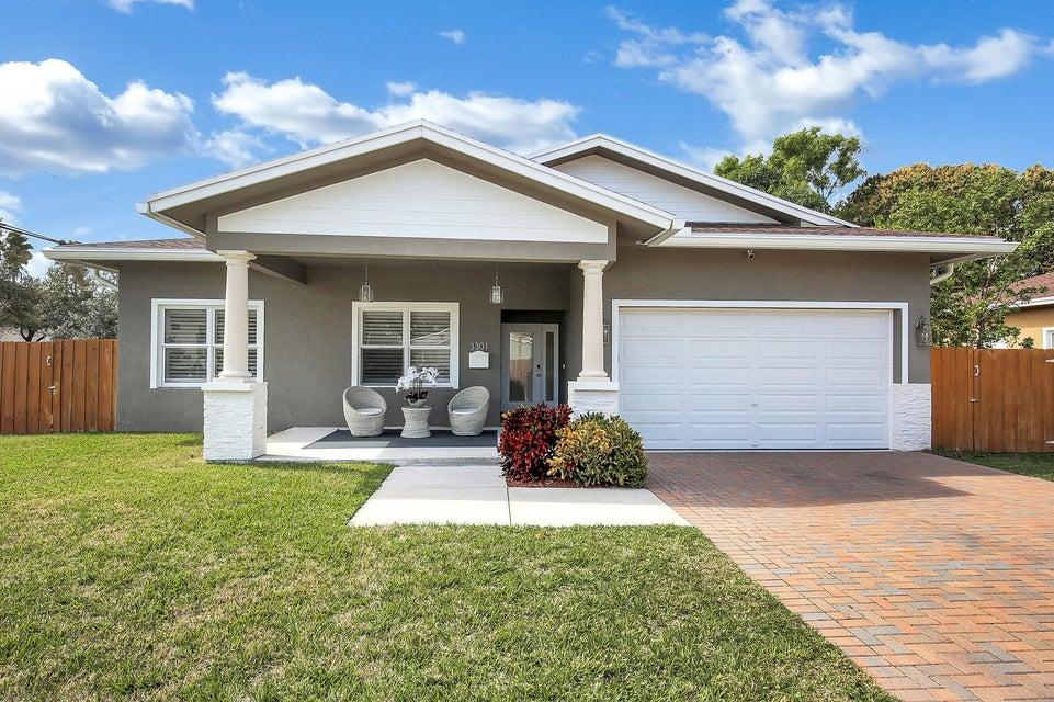 Single Family Home for Sale at 3301 NE 10th Avenue 3301 NE 10th Avenue Oakland Park, Florida 33334 United States
