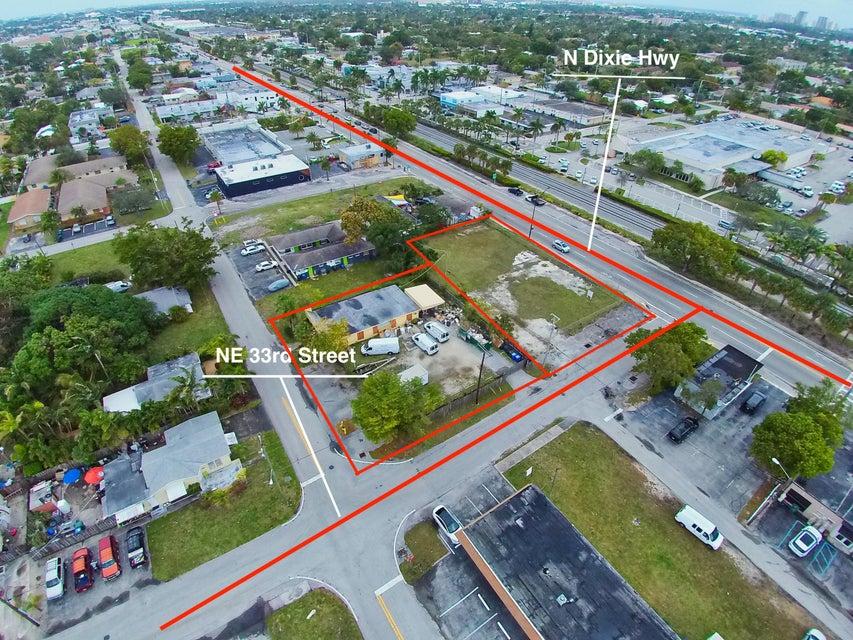 商用 为 销售 在 3328 NE 11th Avenue 3328 NE 11th Avenue 奥克兰公园, 佛罗里达州 33334 美国