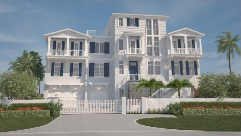 Single Family Home for Sale at 4101 S Ocean Boulevard 4101 S Ocean Boulevard Highland Beach, Florida 33487 United States