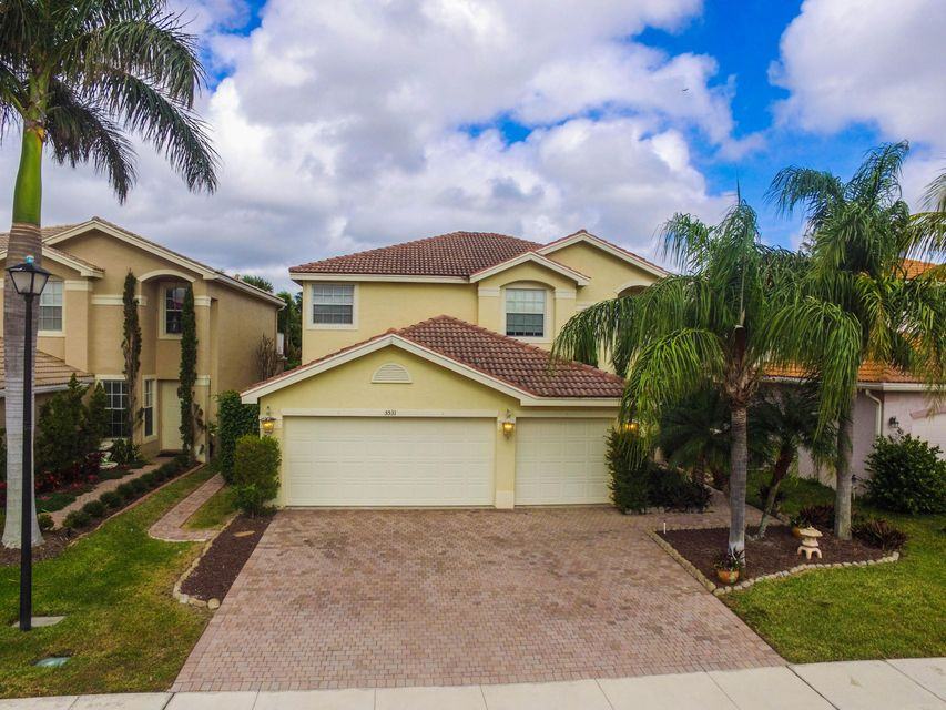 Single Family Home for Sale at 5531 Baja Terrace 5531 Baja Terrace Greenacres, Florida 33463 United States