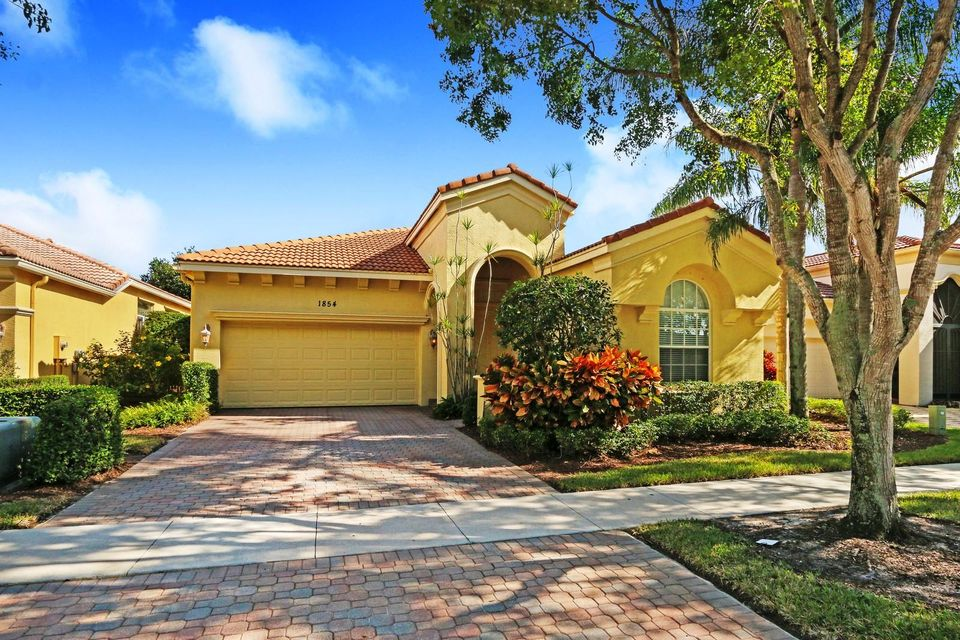 Single Family Home for Rent at 1854 Via Castello 1854 Via Castello Wellington, Florida 33411 United States