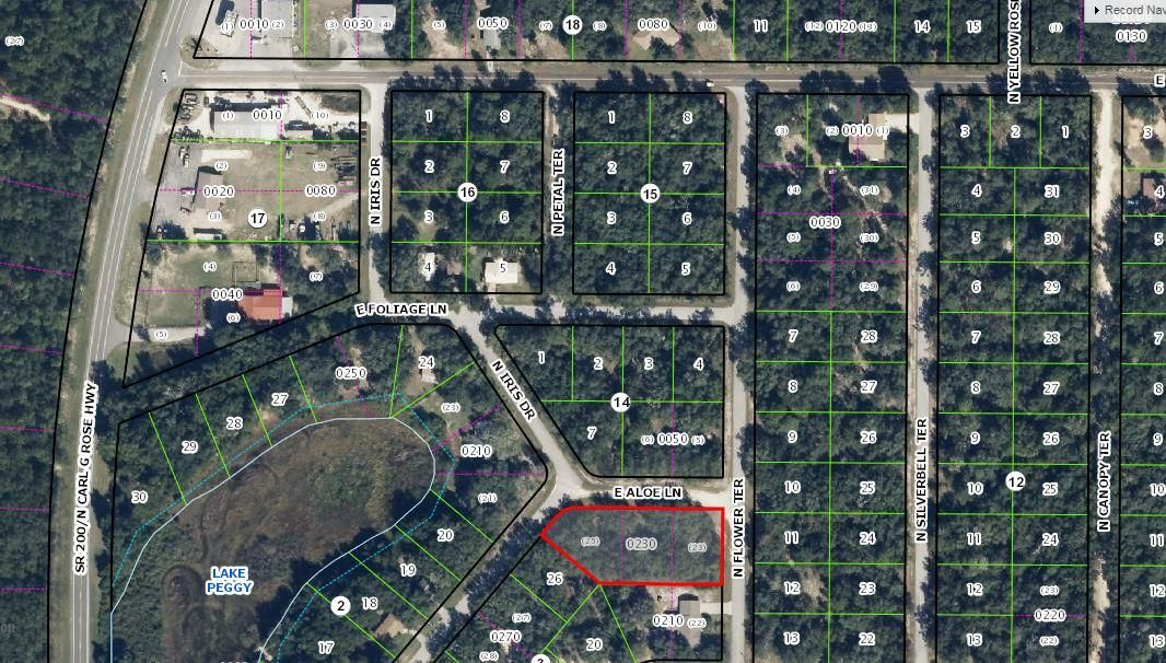 Single Family Home for Sale at 3590 E Aloe Lane 3590 E Aloe Lane Hernando, Florida 34442 United States