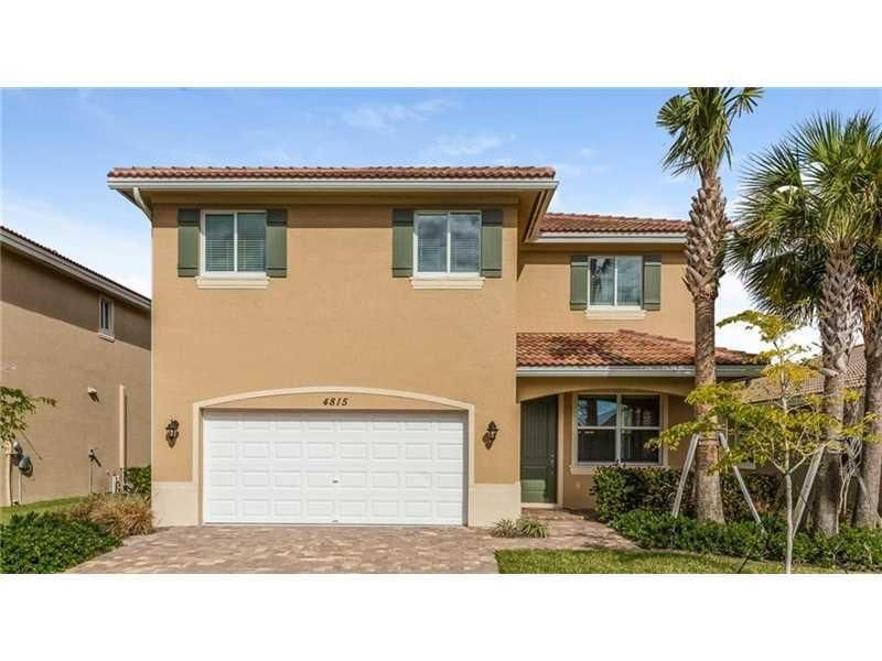 Single Family Home for Rent at 4815 Foxtail Palm Court 4815 Foxtail Palm Court Greenacres, Florida 33463 United States