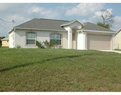 Single Family Home for Sale at 4213 SW Dido Drive 4213 SW Dido Drive Port St. Lucie, Florida 34953 United States