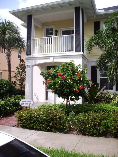 Townhouse for Rent at 3136 W Community Drive 3136 W Community Drive Jupiter, Florida 33458 United States