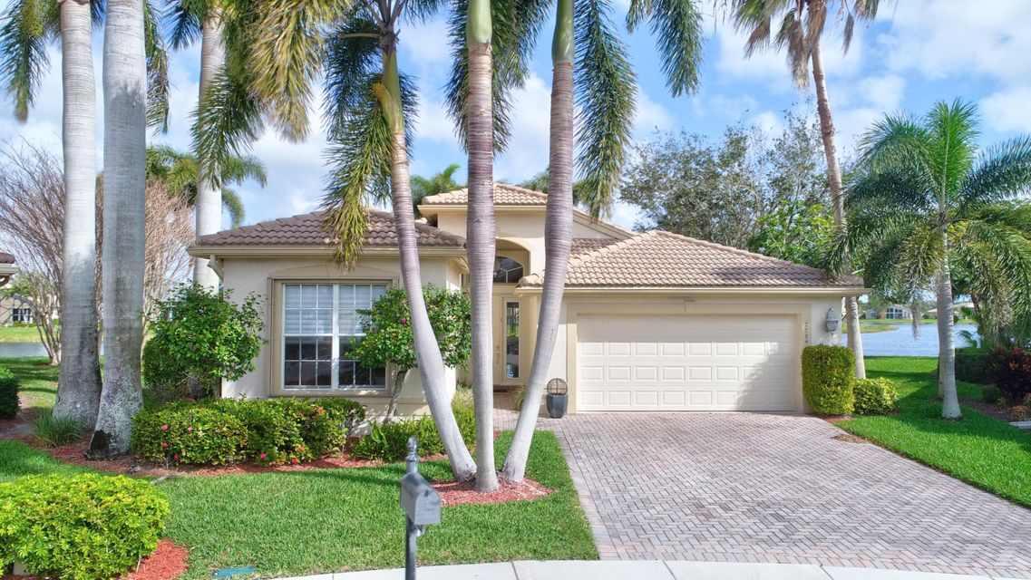 VALENCIA SHORES home 7784 Bonita Villa Bay Lake Worth FL 33467