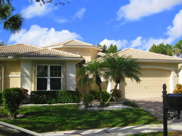 VALENCIA FALLS home 13298 Alhambra Lake Circle Delray Beach FL 33446
