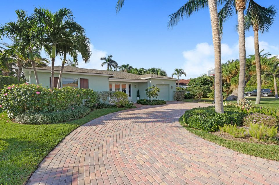 Casa Unifamiliar por un Venta en 330 Blossom Lane 330 Blossom Lane Palm Beach Shores, Florida 33404 Estados Unidos
