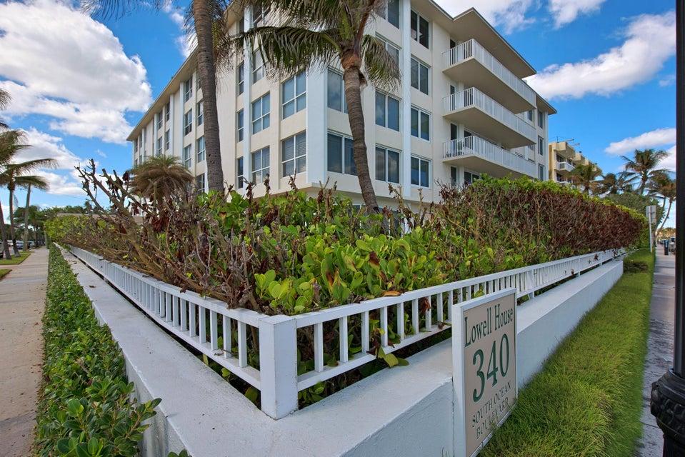 共管式独立产权公寓 为 销售 在 340 S Ocean Boulevard # 2B 340 S Ocean Boulevard # 2B 棕榈滩, 佛罗里达州 33480 美国