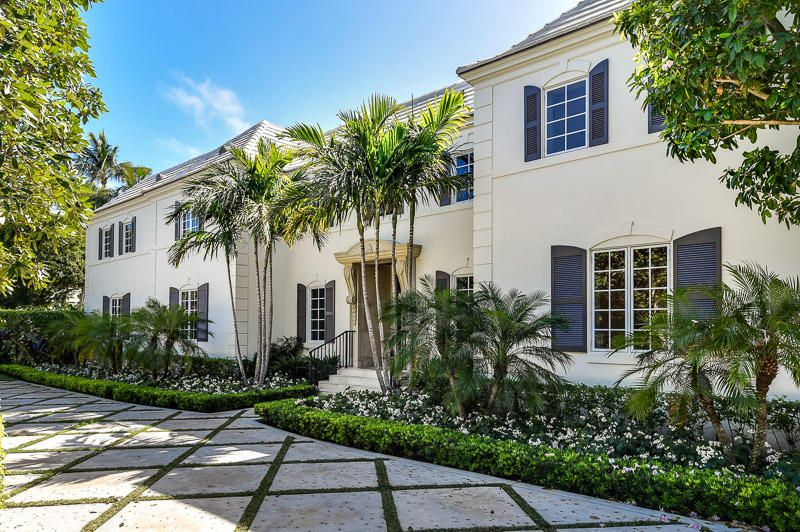 Casa Unifamiliar por un Venta en 9 Via Vizcaya 9 Via Vizcaya Palm Beach, Florida 33480 Estados Unidos