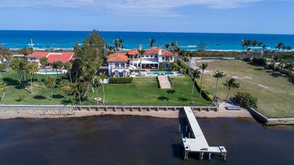 Casa Unifamiliar por un Venta en 1920 S Ocean Boulevard 1920 S Ocean Boulevard Manalapan, Florida 33462 Estados Unidos