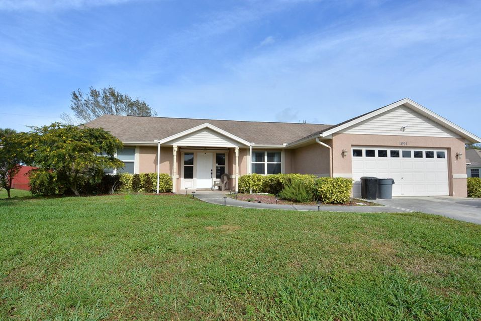 Single Family Home for Sale at 1691 SW Wende Lane 1691 SW Wende Lane Port St. Lucie, Florida 34953 United States