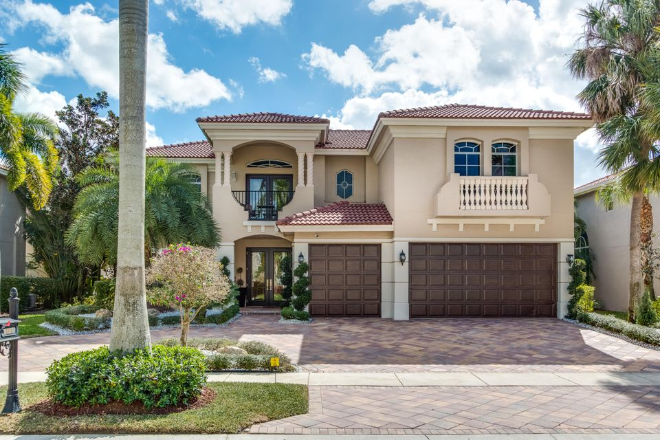Single Family Home for Sale at 8920 Valhalla Drive 8920 Valhalla Drive Delray Beach, Florida 33446 United States