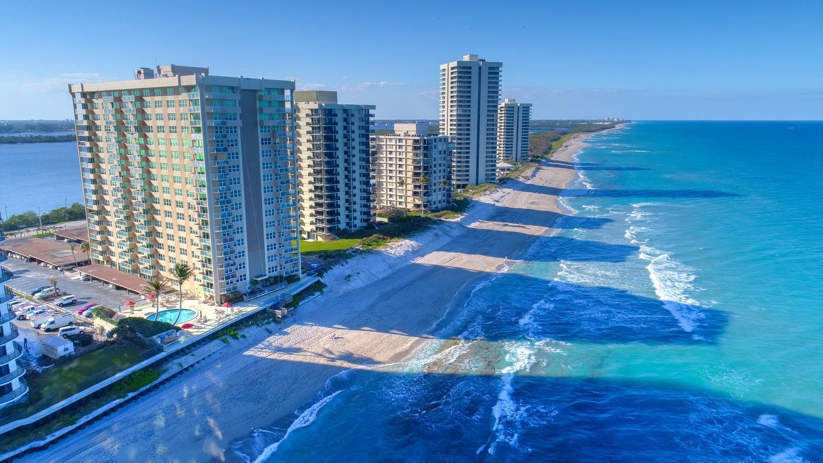 Home for sale in AQUARIUS CONDO Singer Island Florida