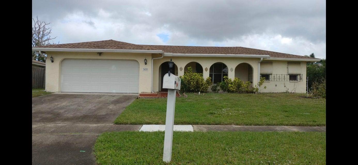 Частный односемейный дом для того Продажа на 3420 NW 25th Terrace 3420 NW 25th Terrace Boca Raton, Флорида 33434 Соединенные Штаты