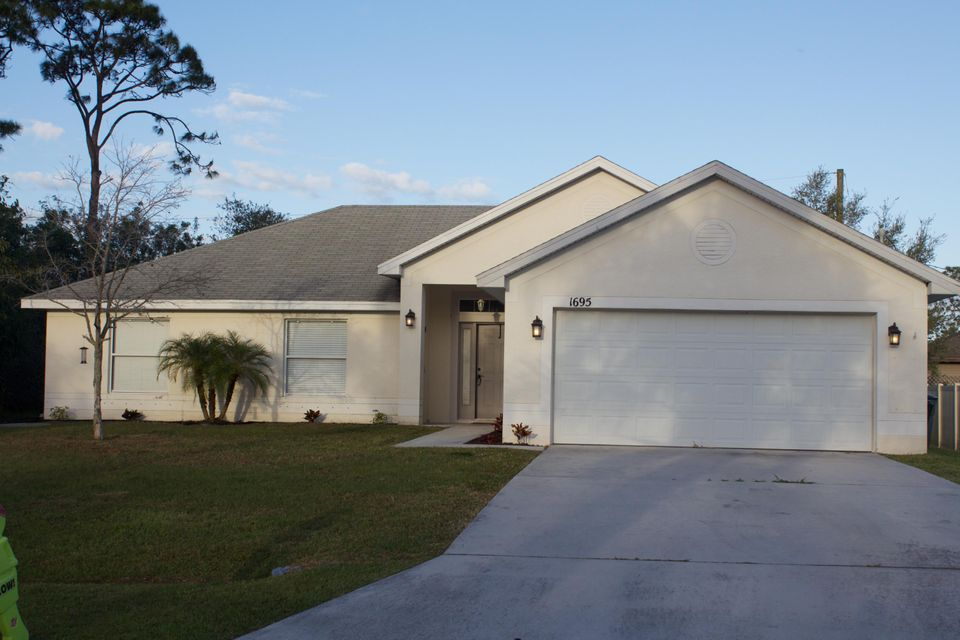 Single Family Home for Sale at 1695 SW Angelico Lane 1695 SW Angelico Lane Port St. Lucie, Florida 34953 United States