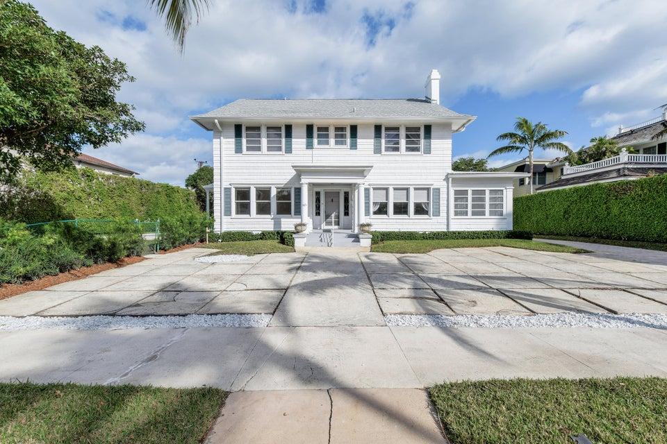 Single Family Home for Sale at 165 Seaspray Avenue 165 Seaspray Avenue Palm Beach, Florida 33480 United States